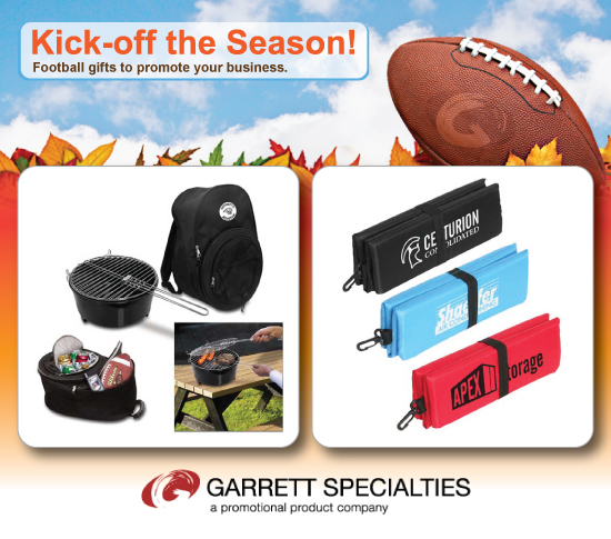 Kick-Off the Season! Football Promotional Items