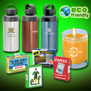 Earth Friendly Halloween Promotional Gifts