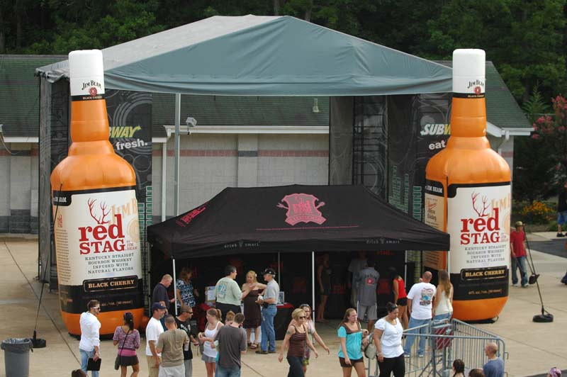 Successful Summer Promotions - Kid Rock and Red Stage