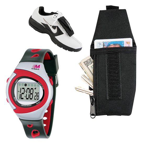Pro Sport Stopwatch and Shoe Wallet
