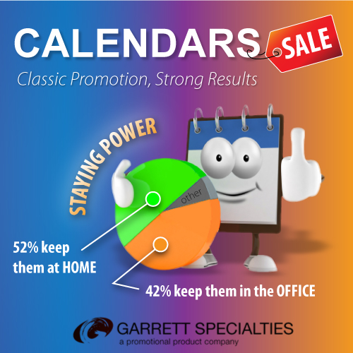 Promotional Calendars have Staying Power